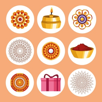 Девять икон ракша-бандхана