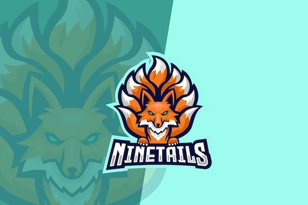 Девять хвостов лиса киберспорт логотип