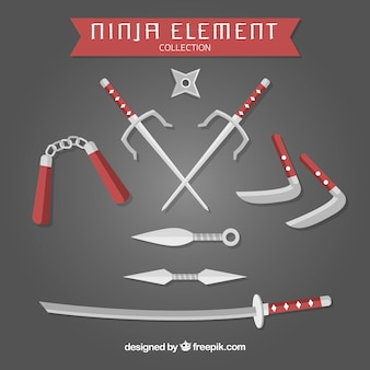 Ninja element collection