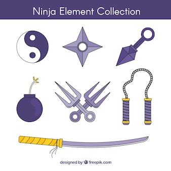 닌자 요소 컬렉션