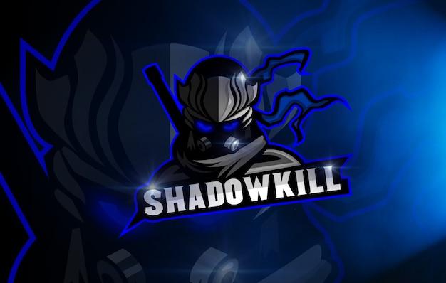 Ninjaのロゴesports shadowkillチーム