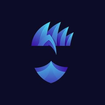 Логотип ниндзя