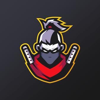 Логотип талисмана ниндзя