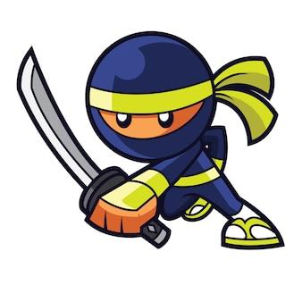 Ninja warrior logo