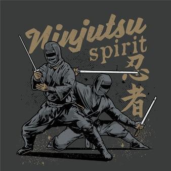 Ninjutsu spirit