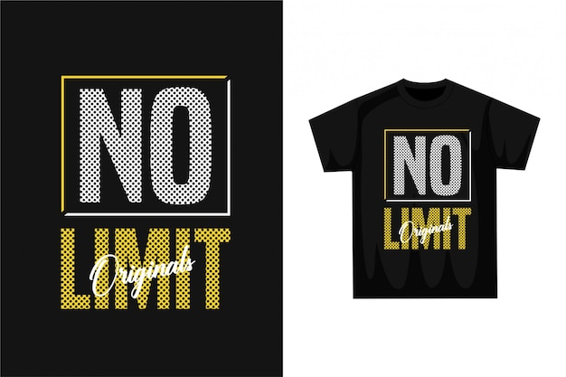 制限なし-グラフィックtシャツ