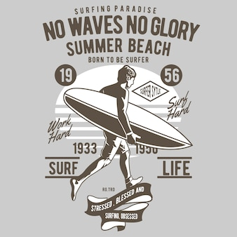 No waves no glory