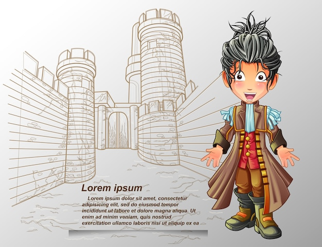 Nobleman character.
