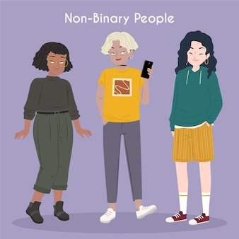 Non-binary people collection
