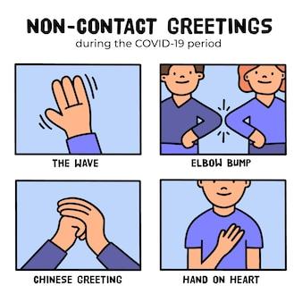 Концепция бесконтактного приветствия