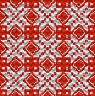 Nordic knitted perfect seamless pattern. just drop to swatches and enjoy. and also includes