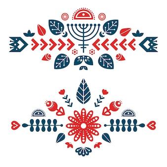 Nordic ornaments