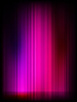 오로라 (aurora borealis).