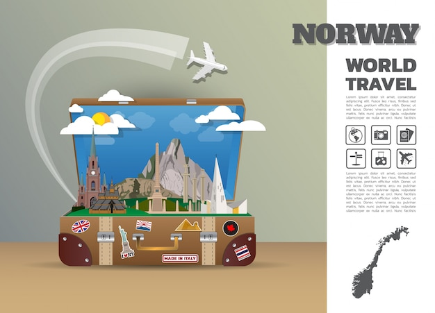 Norway travel template