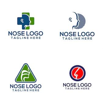 Nose logo vector art
