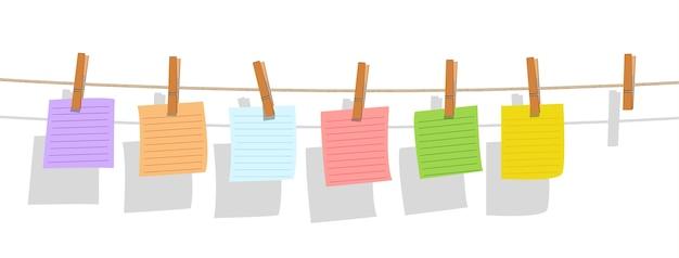 Бумага для заметок на веревочной бумаге