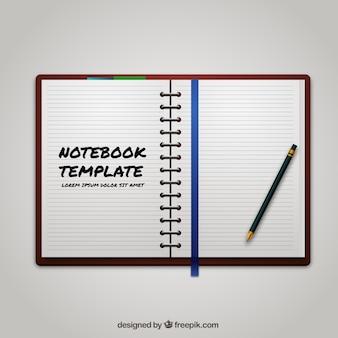 Notebook template
