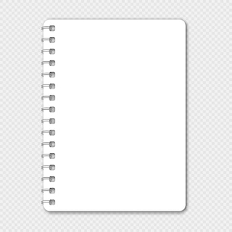 Notebook with place for your image or text