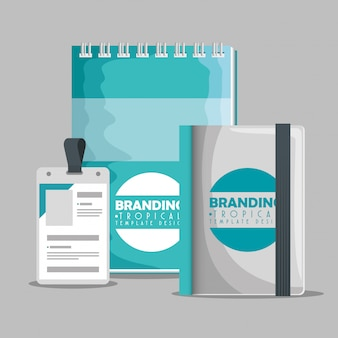 Notebooks with license business branding product