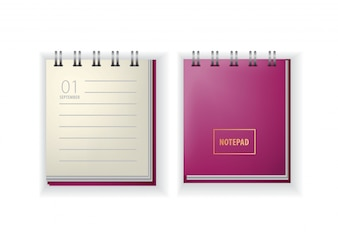 Notepad. Calendar, September, the first, back to school.
