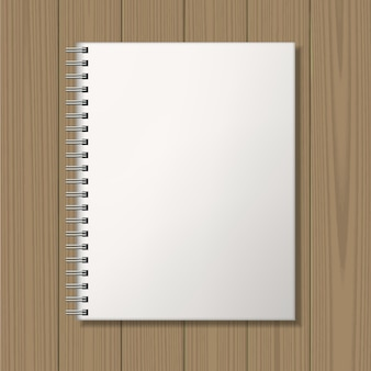 Notepad with spiral binding