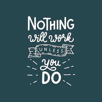 Nothing will work unless you do hand lettering quote