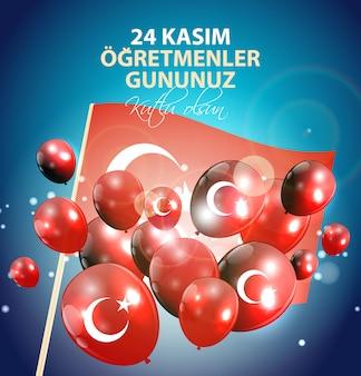 November 24th turkish teachers day