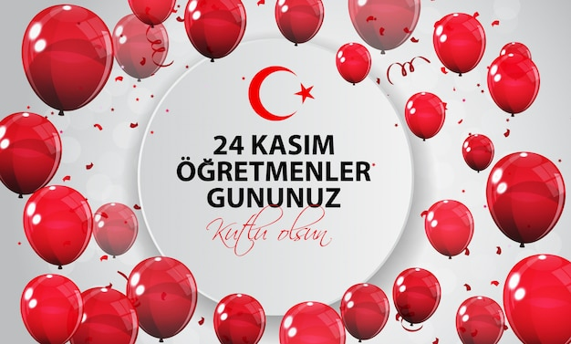 November 24th turkish teachers day