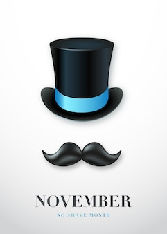 11월 면도 금지의 달 포스터