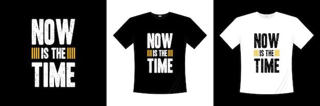 Настало время типографского дизайна футболок.