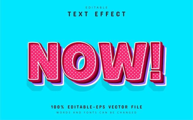 Теперь текст, текстовый эффект в стиле комиксов