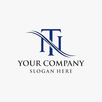 Вдохновение дизайна логотипа nt