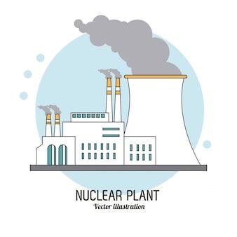 Атомная установка в ярком дизайне