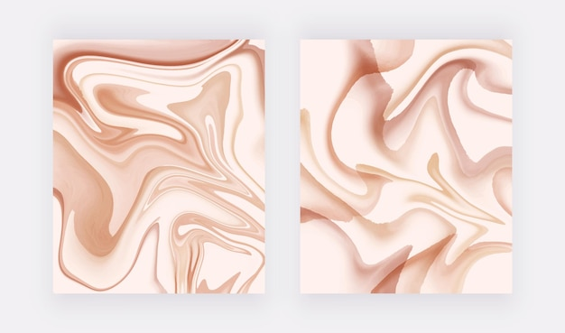 Обнаженная текстура жидкого мрамора для дизайна открыток, баннеров, приглашений