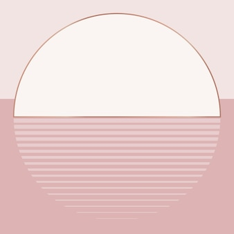 Nude pink sunset background  aesthetic