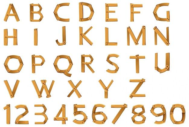 숫자와 알파벳