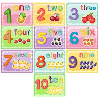 Numbers for children
