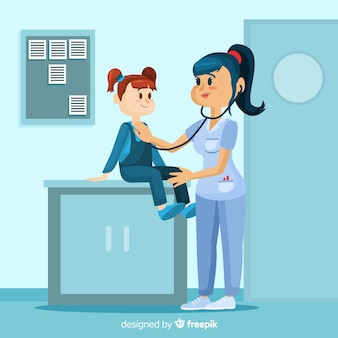 看護師支援患者の背景
