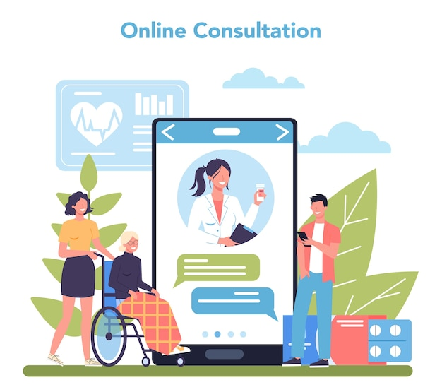 Онлайн-сервис или платформа медсестры