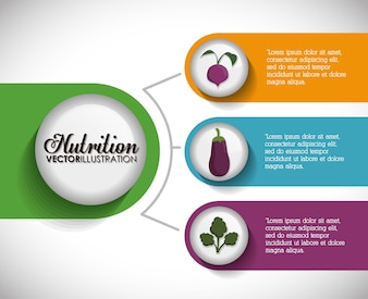 Nutrition and Organic concept