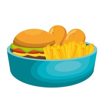 Nutrition food design vector illustration eps 10