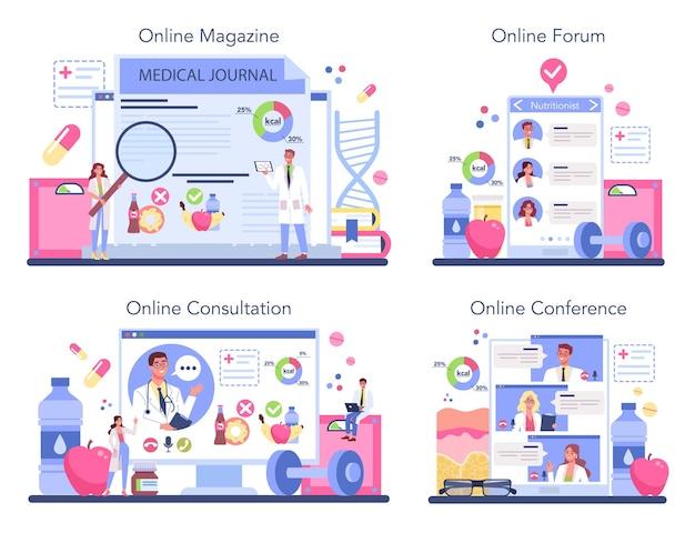 Интернет-сервис или платформа диетолога