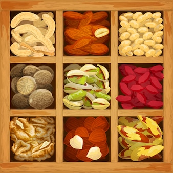 Коллекция орехов