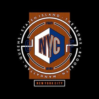 NYC artistic box line circles