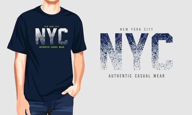 Нью-йорк - аутентичная повседневная одежда