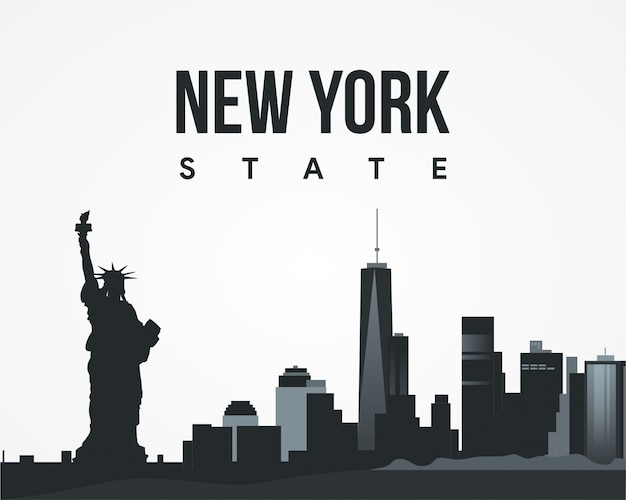 Nyew york state vector