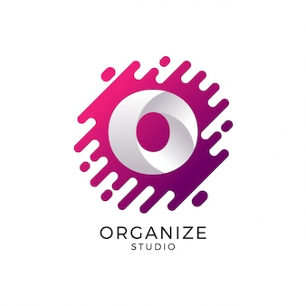 Логотип логотипа o, логотип