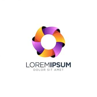 Удивительная буква o логотип