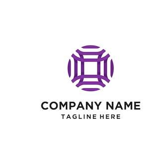 文字oのロゴ