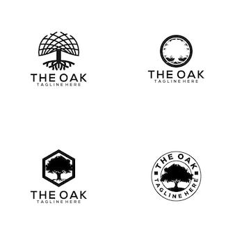 Oak logo collection
